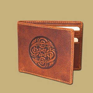 Celtic Embosses Wallet by Lee River Ireland