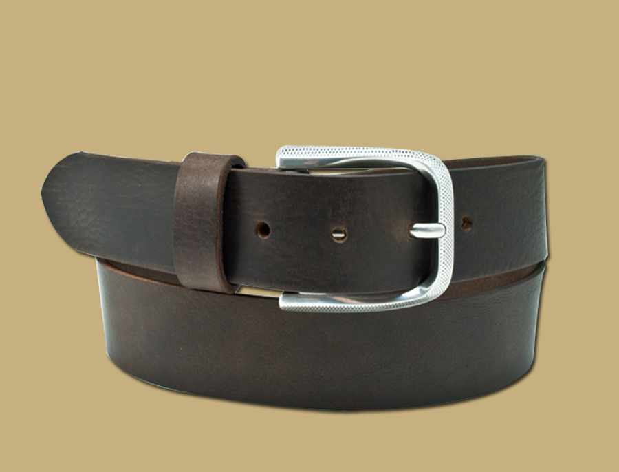 Diamond-Jeans-Belt-Brown-Handmade