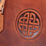 Celtic Knot Embossed Tote Bag
