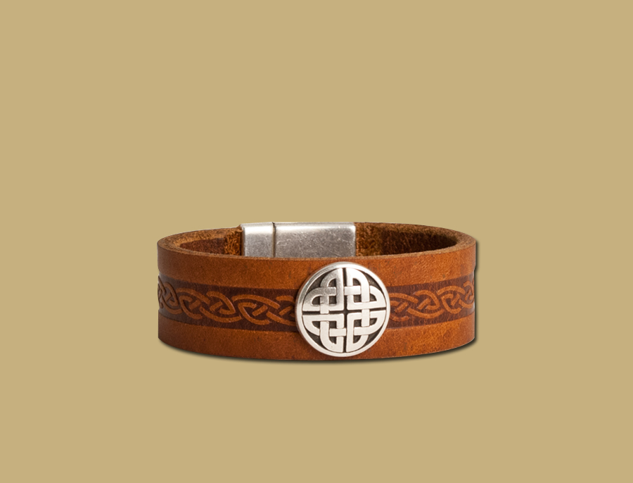Celtic-Embossed-Leather-Cuff-from-Ireland