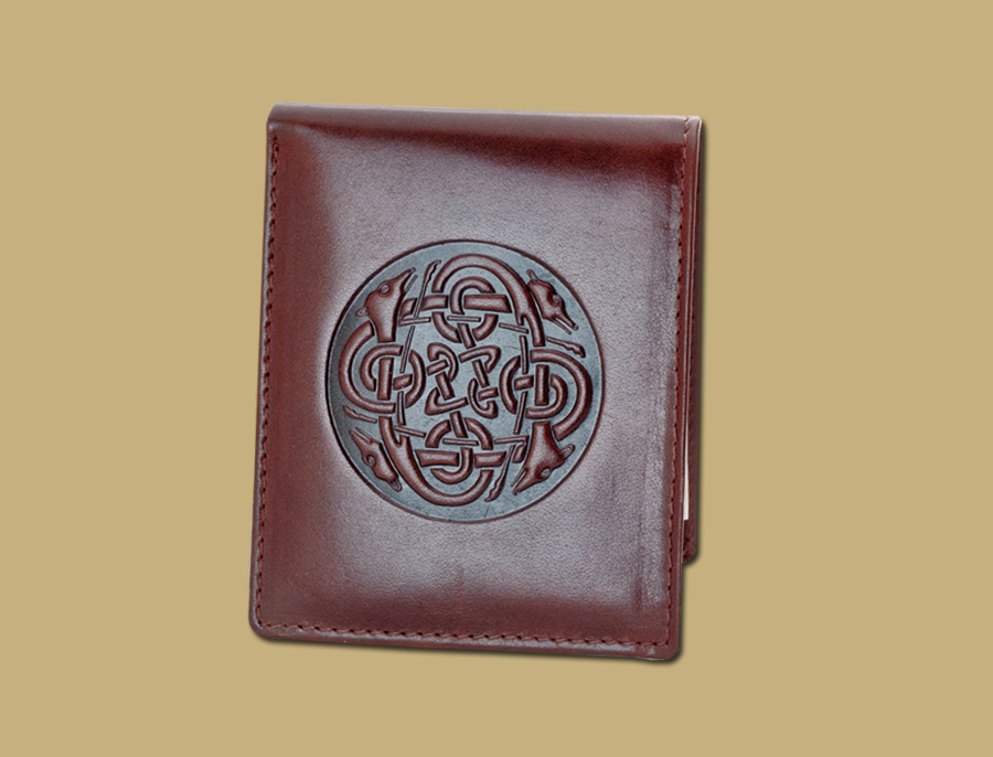 Celtic Embossed Celtic Wallet Black