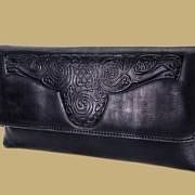 celtic clutch bag black lee river ireland