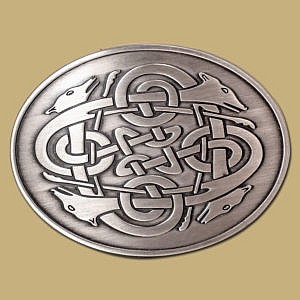4-hounds-celtic-snap-on-buckle-silver
