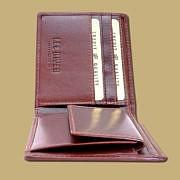 Dark Brown Celtic Coin Wallet