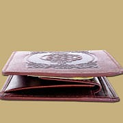 Celtic COin Wallet with A Pocket
