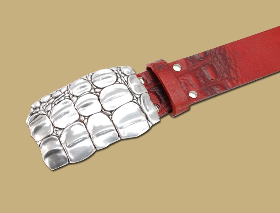 Red-Crocodile-Print-Belt-and-Buckle