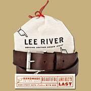 dkar jeans belt brown with gift bag
