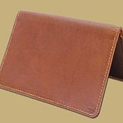 Tan Leather Passport Cover