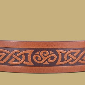 No.8 Triskle Snap On Belt By Lee River Ireland