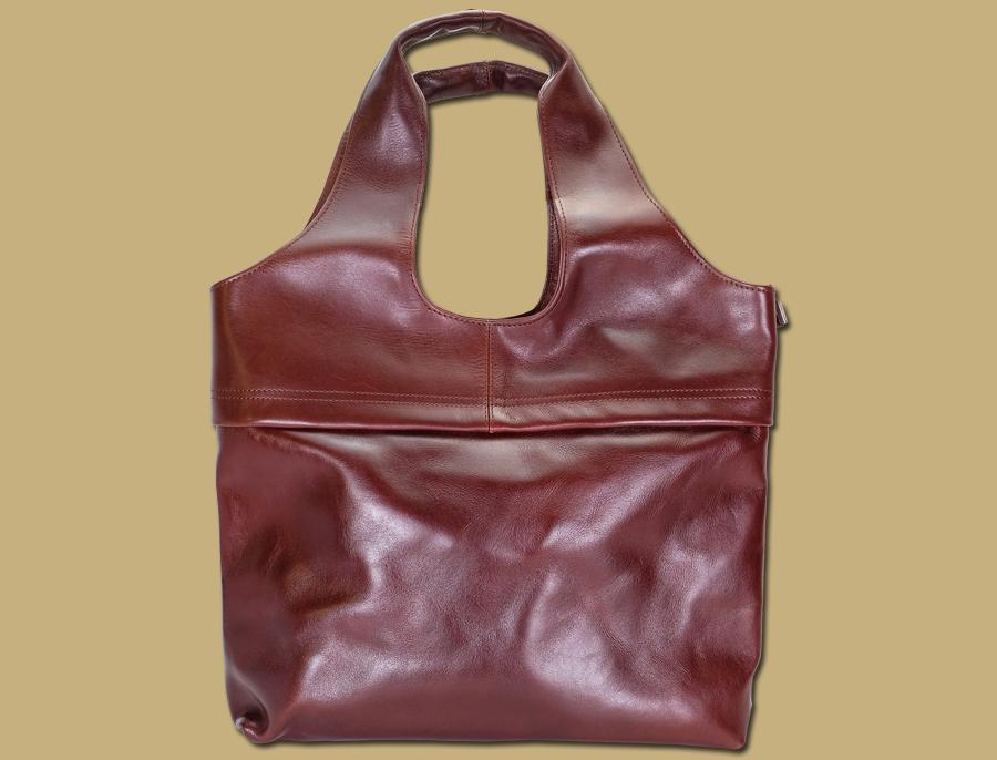 Lee River Large Havana Brown Tote Shopper Bag